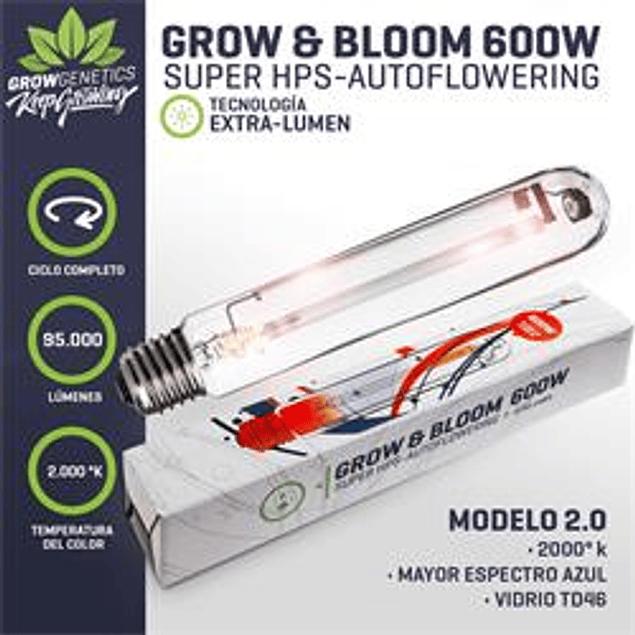 Ampolleta Grow & Bloom 600W - Grow Genetics