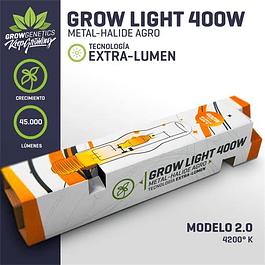 Ampolleta Haluro Metal 400W Extra Lumen - Grow Genetics
