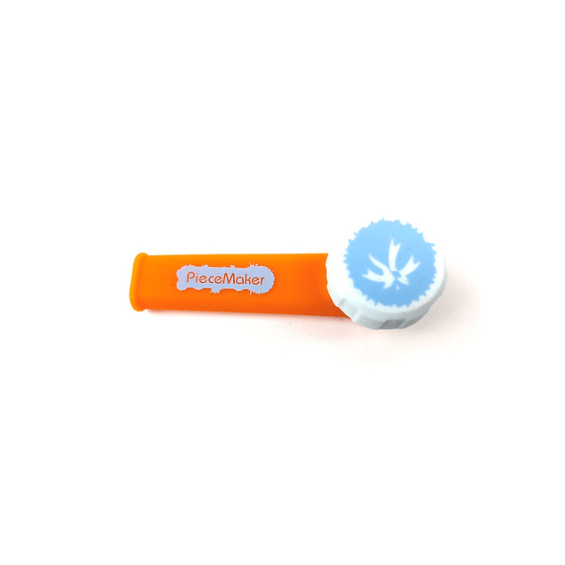 Piece Maker Gear karma Naranja Logos