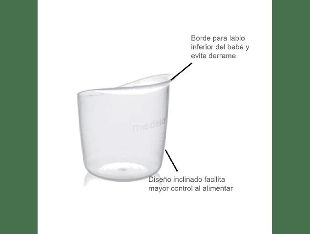 Vaso para bebé (10 unid)
