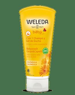 Shampoo y Gel de Ducha de Caléndula 200 ml