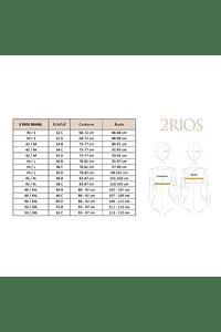 Top Encaje Recogido 2RIOS