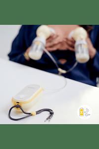 Extractor de leche eléctrico doble Freestyle Flex ™ 2-Phase