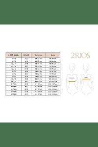 Sostén de Lactancia Algodón - Semi Encaje 2RIOS