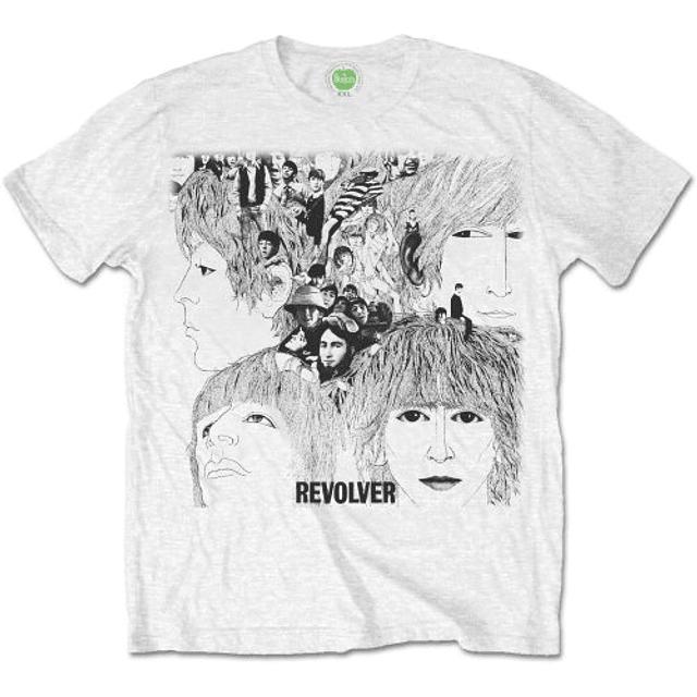 Polera Oficial The Beatles Revolver Album Cover