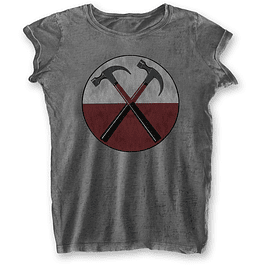 Polera Oficial Mujer Pink Floyd The Wall Hammers