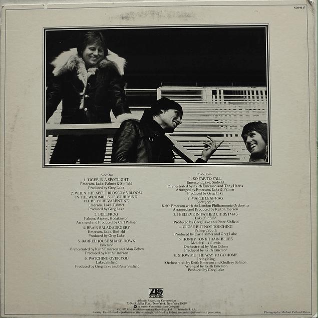 Vinilo Usado Emerson, Lake & Palmer - Works (Volume 2)