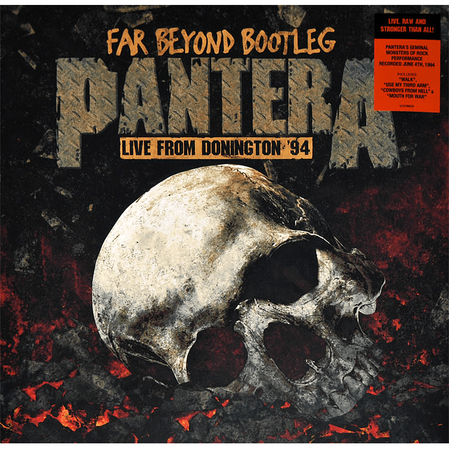 "Vinilo Pantera - Far Beyond Bootleg ""Live From Donington´94"""