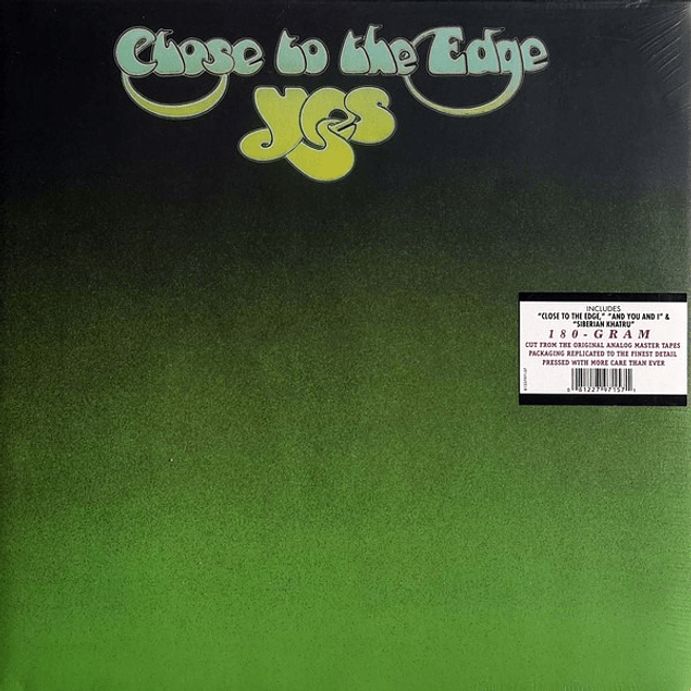 Vinilo YES - Close To The Edge