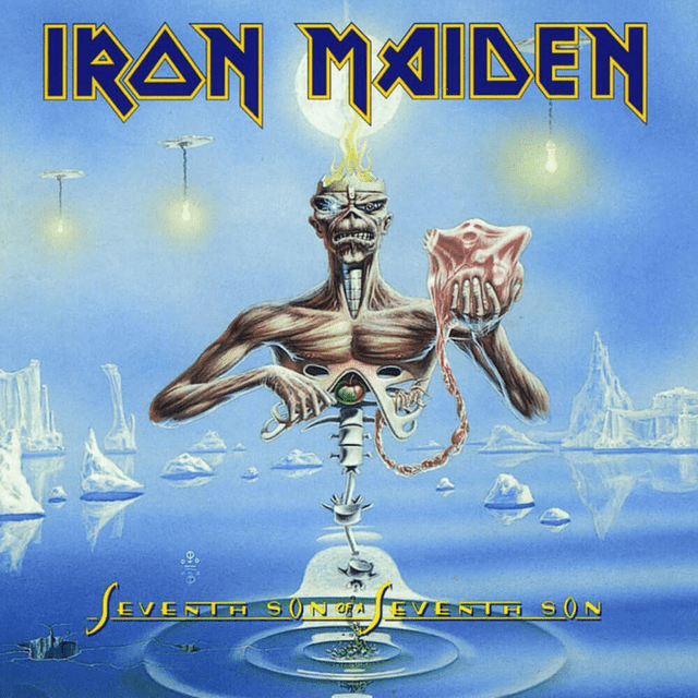 CD Iron Maiden - Seventh Son Of A Seventh Son