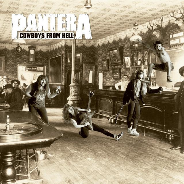 """CD """"2CD"""" Pantera - Cowboys From Hell"""