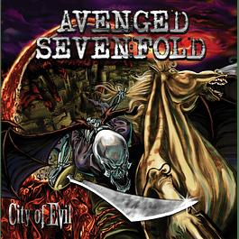 CD Avenged Sevenfold - City Of Evil