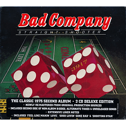 "CD Bad Company - ""2CD"" Straight Shooter"
