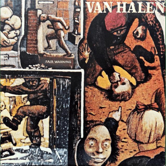 CD Van Halen - Fair Warning