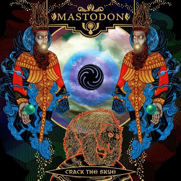 CD Mastodon - Crack The Skye