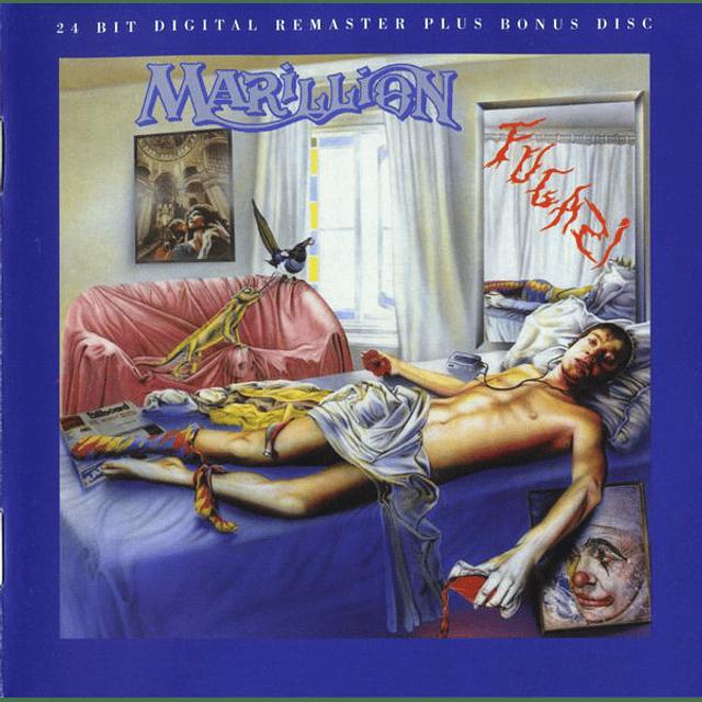 """CD """"2CD"""" Marillion – Fugazi"""