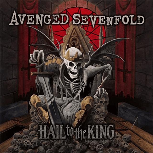 """Vinilo """"2LP"""" Avenged Sevenfold - Hail To The King"""