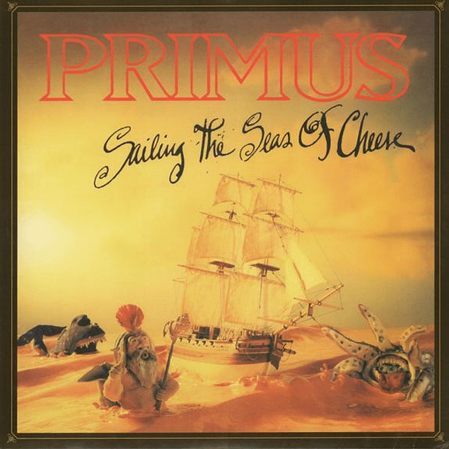 Vinilo Primus – Sailing The Seas Of Cheese
