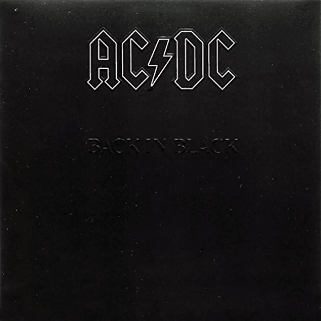 Vinilo AC/DC ‎– Back In Black