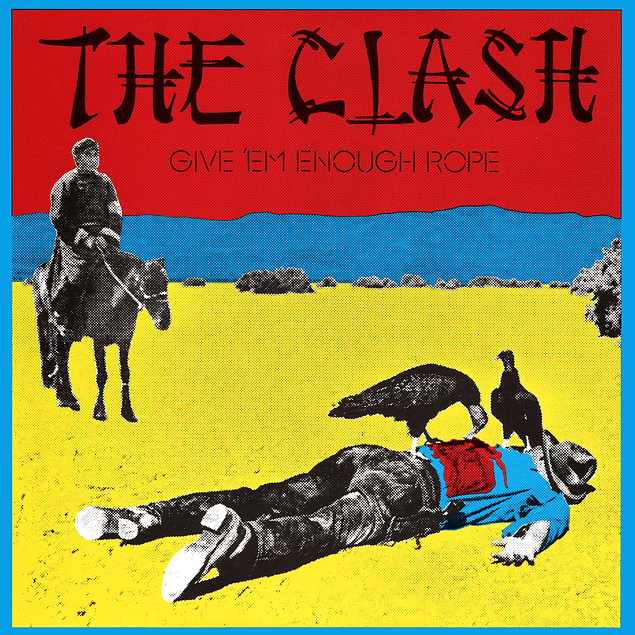 Vinilo The Clash ‎– Give 'Em Enough Rope