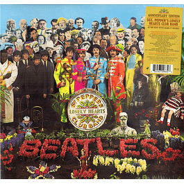 Vinilo The Beatles ‎– Sgt. Pepper's Lonely Hearts Club Band