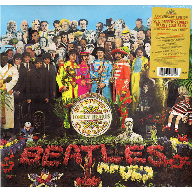 Vinilo The Beatles – Sgt. Pepper's Lonely Hearts Club Band