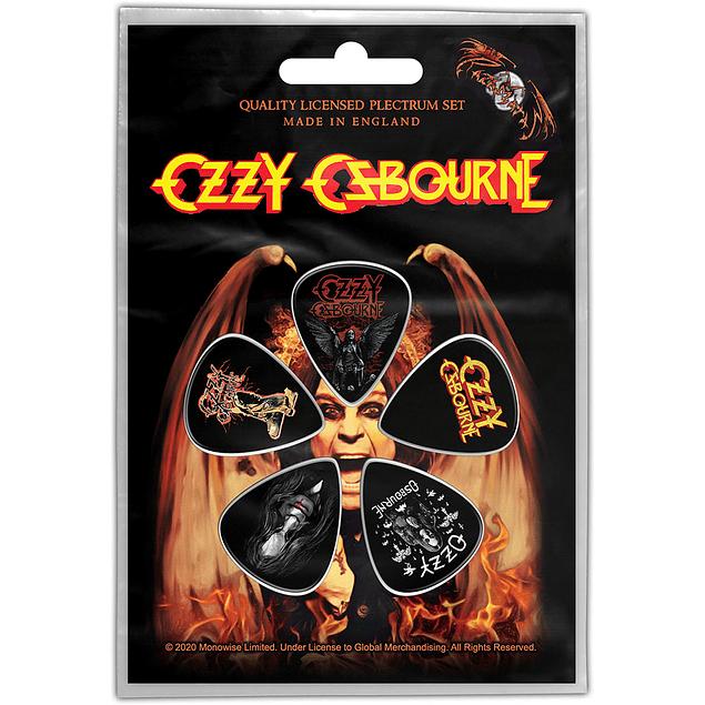 Uñetas Ozzy Osbourne Ordinary Man