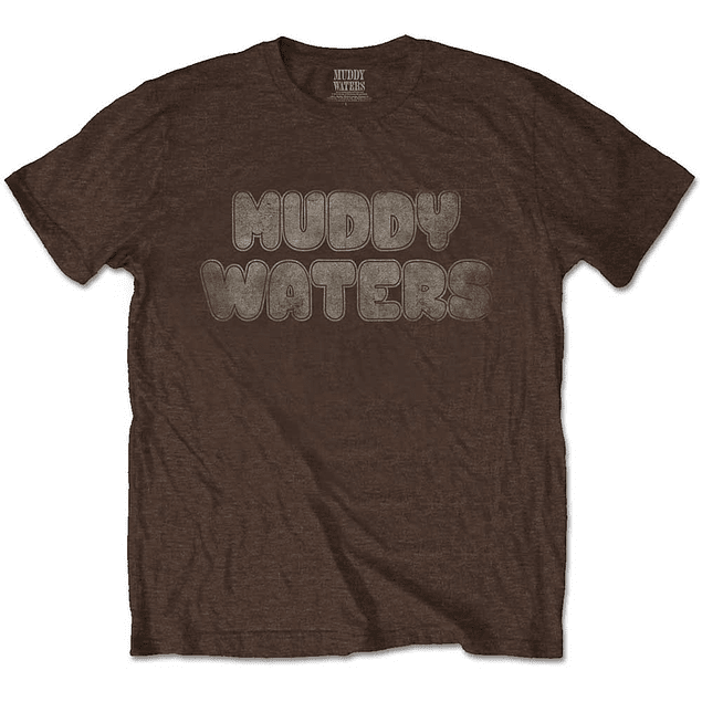 Polera Oficial Unisex Muddy Waters