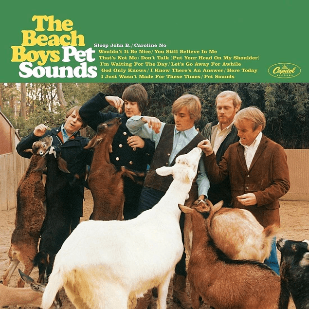 Vinilo The Beach Boys – Pet Sounds