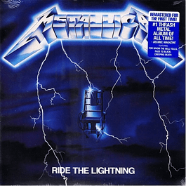 Vinilo Metallica ‎– Ride The Lightning