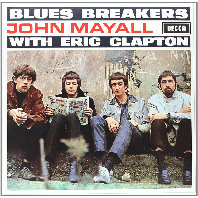 Vinilo Blues Breakers - John Mayall With Eric Clapton