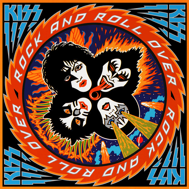 Vinilo Kiss – Rock And Roll Over