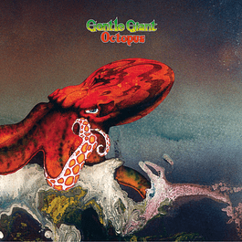 Vinilo Gentle Giant ‎– Octopus