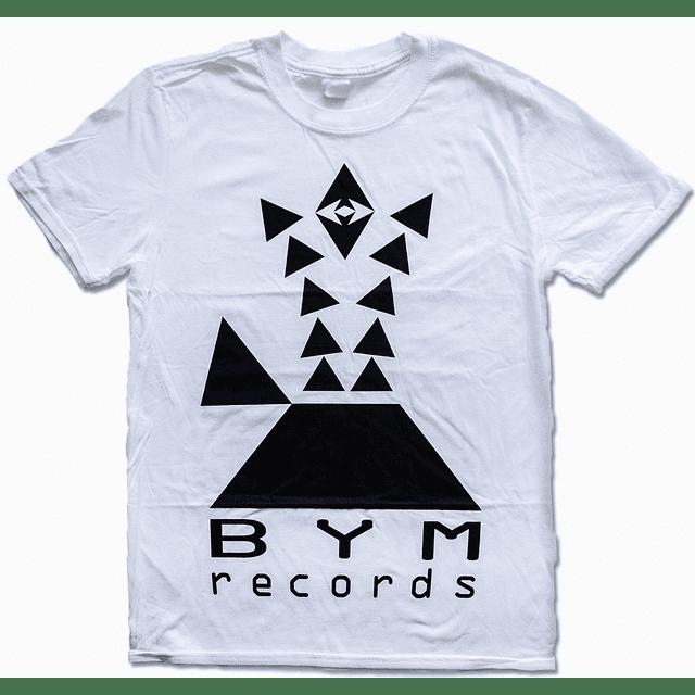 Polera Unisex BYM Records Logo