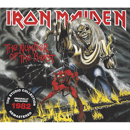 CD Iron Maiden ‎– The Number Of The Beast