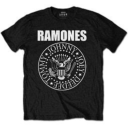 Polera Oficial Unisex Ramones Logo