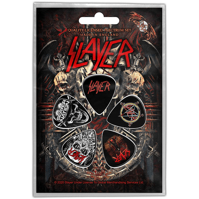 Uñetas Slayer Demonic