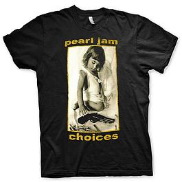Polera Unisex Pearl Jam Choices