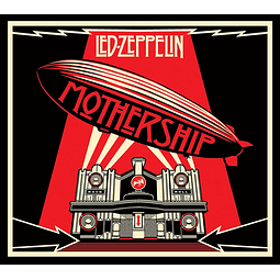 "CD ""2CD"" Led Zeppelin ‎– Mothership"