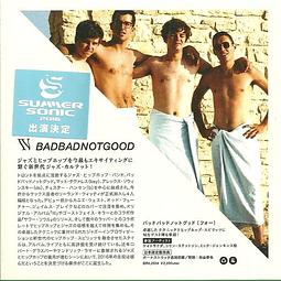 """CD BadBadNotGood – IV """"Ed. Japonesa"""""""