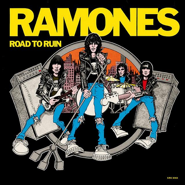 CD Ramones – Road To Ruin