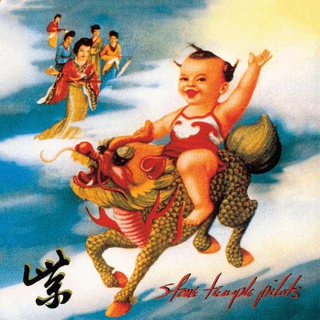 CD Stone Temple Pilots ‎– Purple