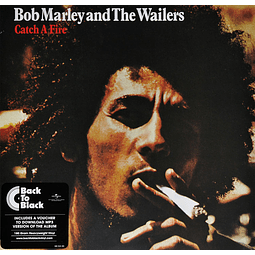 Vinilo Bob Marley And The Wailers ‎– Catch A Fire