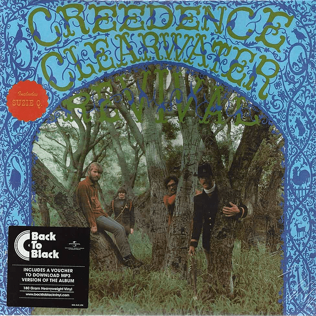 Vinilo Creedence Clearwater Revival – Creedence Clearwater Revival