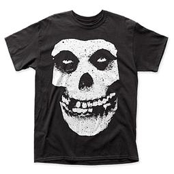 Polera Unisex Misfits Skull & Logo (espalda)
