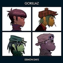 "Vinilo ""2LP"" Gorillaz – Demon Days"