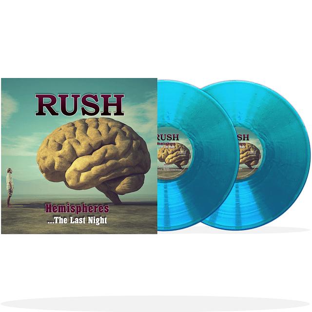 """Vinilo """"2LP"""" Rush – Hemispheres ...The Last Night """"Ed Limitada LP Azul"""""""