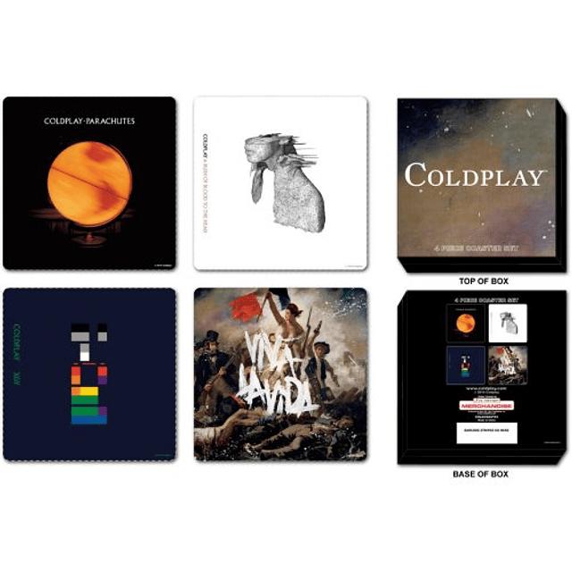 Posavasos Coldplay