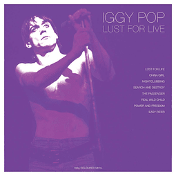 Vinilo Iggy Pop – Lust For Live