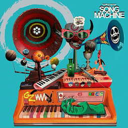 "Vinilo Gorillaz – Song Machine Season One ""Blue Vinyl"""